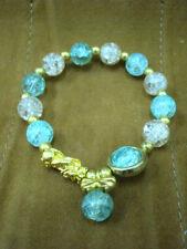 Bracelet Pixiu Bead Dragon Prayer Healing Feng Shui Pi Xiu Thai Buddha Amulet