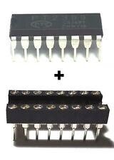 1PCS PTC PT2399 Echo Audio Processor Guitar IC DIP-16 + DIP Socket - New IC
