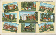Frederick MD * Hood College Multi-View 9 views 1936 *