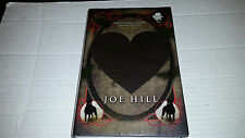 Heart-Shaped Box by Joe Hill (2007, Hardcover) SIGNED 1st/1st British Edition