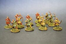 Gripping Beast Saga Swordpoint 12 x Dark Age Archers Painted Saxon 28mm