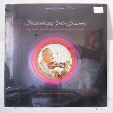 FRANCESCATTI-PLAYS VIOLIN SPECTACULARS ON COLUMBIA CLASSICAL LP-ORIGINAL SEALED!