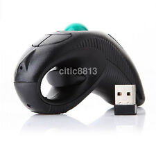 Y-10W 2.4GHz Handheld Wireless Optical Mouse USB Mouse Handheld Trackball Mouse^