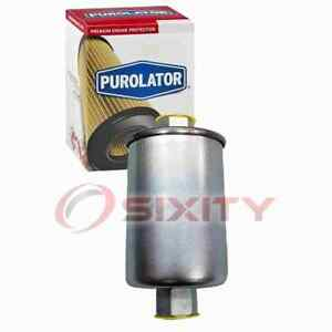 Purolator Fuel Filter for 1984 Oldsmobile Omega Gas Pump Line Air Delivery am