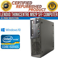 Lenovo ThinkCentre M92p SFF Intel i5 8 GB RAM 500 GB HDD Win 10 B Grade Desktop