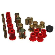 Energy Suspension Control Arm Bushing Kit 3.3162R; Red for Chevy S-10