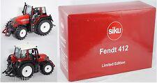 Siku Farmer 2968 Fendt Farmer 412 Vario Traktor rot 1:32 Werbeschachtel