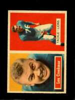 1957 TOPPS #20 LOU CREEKMUR EXMT LIONS HOF  *SBA0118