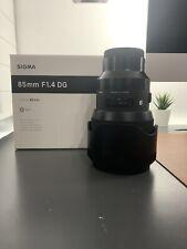 Sigma Art 85mm F/1.4 DG Lens For Sony E-Mount