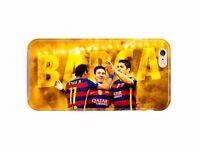 Iphone 4S 5 5s 6 6S 7 8 X XS Max XR 11 Pro Plus SE Case Messi Neymar Suarez  06