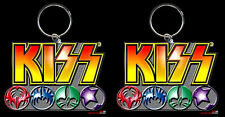 KISS LOGOS KEYRING BUY TWO AND GET 50% OFF THE SECOND ONE! FREE AUSSIE P+H