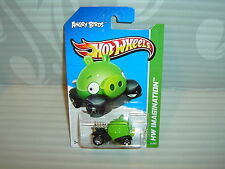 2012 Hot Wheels '' Hw Imagination '' #35 = Angry Birds = Verde Compinche