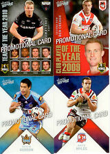 SELECT NRL 2011 STRIKE PROMO CARDS FULL SET (4)