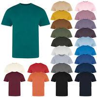 AWDis Just T's Unisex The 100 Plain Short Sleeved Crew Neck T-Shirt Tee Top