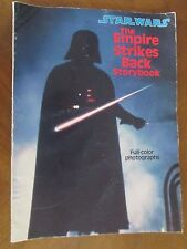 The Empire Strikes Back (Paperback)   Storybook of movie