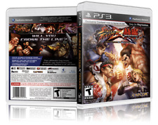 Street Fighter X Tekken - Replacement PS3 Cover and Case. NO GAME!!