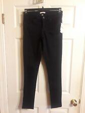 Bongo Womens Juniors Black Denim Skinny Jeans Pants Size 3