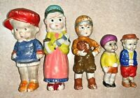 Vintage Made in Japan Porcelain Figurines LOT of 5