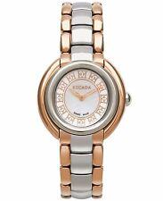 Escada Women's Swiss Ivory Two-Tone Stainless Steel Bracelet Watch 36mm NEW