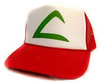 New Curved Bill POKEMON go ASH KETCHUM Cartoon Hat Cap Trucker Snapback hat