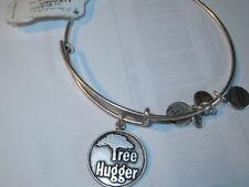 Alex and Ani Silver Bangle Bracelet TREE HUGGER New w/ Tag