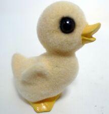 "Vintage 1977 Yellow Fuzzy Chick 3"" Josef Originals Japan Rare Glass Eyes"