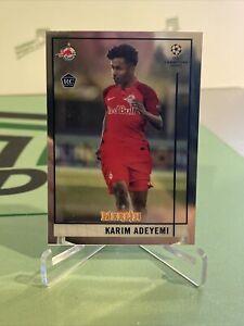 2020-21 Topps Merlin Chrome UEFA KARIM ADEYEMI Rookie RC #35 - FC Salzburg