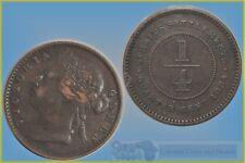 Straits Settlements 1/4 Cent 1884 ....  VF