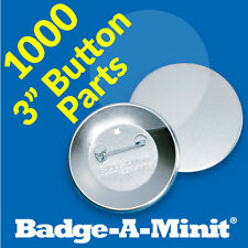 "Badge-A-Minit 1000 - 3"" Pin-Back Button Sets #3711"