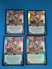 UFS Foil Cards x4 - Soul Calibur - playset of Sidestep