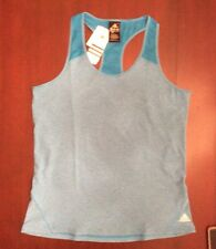 Adidas NWT ($28) Ladies XL Blue Racer Back Tank For Running, Fitness, Yoga