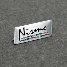 New Aluminium Car Auto Styling Decor Decal Badge Emblem Fits for Nismo Nissan