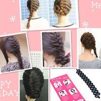 fashion French Hair Braiding Tool Roller Magic Hair Twist Styling Bun Maker Tool