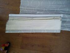 John Lewis Bespokd ROMAN BLIND Chattis Fabric Grey x 3