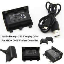 NI-MH 2400MAH Charge Kit Rechargeable Battery Pack With USB Cable For Xbox One