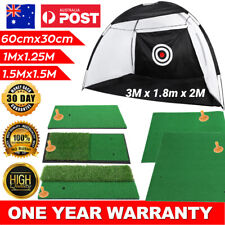 Golf Practice Net Hitting Net Driving Netting Chipping Cage Training Aid Mat