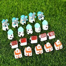20Pcs Miniature House Craft Fairy Dollhouse Landscape Bonsai Garden Ornament DIY