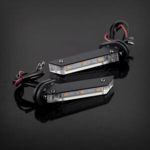 Invisible Wing LED Turn Signal Light Indicator For YAMAHA MT-07/09 FZ-07/09 FJ09