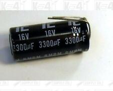 IC Radial Lead 3300 uF 16 Volt Electrolytic Capacitor