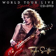 Taylor Swift – Speak Now World Tour Live (2011)  CD+DVD  NEW/SEALED  SPEEDYPOST