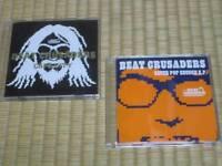 BEAT CRUSADERS CD 2pcs CAPA CITY & NEVER POP ENOUGH EP Japam import