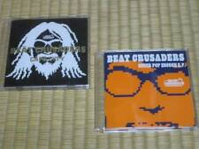 "BEAT CRUSADERS 2 CD set ""CAPA CITY"" & ""NEVER POP ENOUGH EP"" / Japam import"
