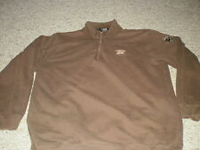 Lambeau Field partial zip brown pullover large L Green Bay Packers sweatshirt