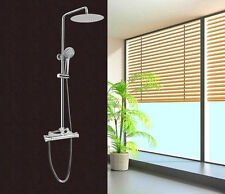 Colonna doccia saliscendi multifunzione con soffione miscelatore termostatico |1