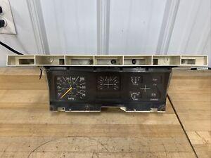 1980-86 Ford F-150 F-250 F-350 truck Bronco Instrument Cluster manual OEM 77k