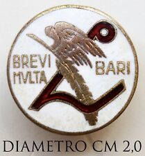 3177) Distintivo Pubblicitario Brevi Multa Bari