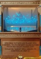 Daze - Foil x1 Magic the Gathering 1x Amonkhet Invocations mtg card