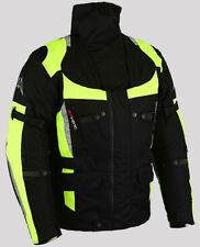 Homme Moto Noir Veste Textile Hiver Imperméable Moto Cordera Blouson.M-5XL