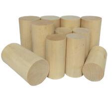 Natürlicher Zylinder Craft Holzspielzeug Craft Supplies 30/40/50mm Durchmesser