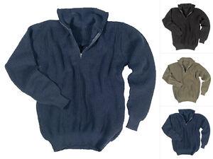 Mil-Tec Troyer Pullover (750g) 46-58 Seemannspullover Sweatshirt Strickpullover